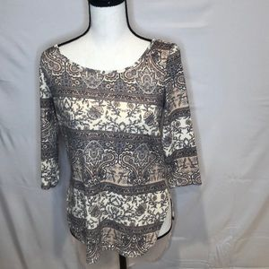 Charlotte Russe sheer back top. Size S.